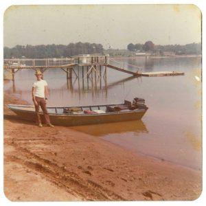 DIY Boat built by Wayne