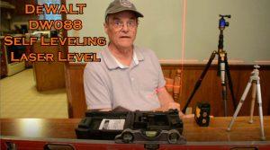 DeWALT DW088 self leveling laser level