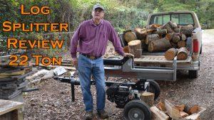 Dirty Hand Tools 22 Ton Log Splitter