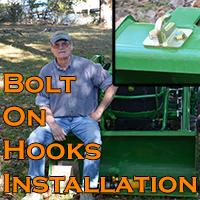 Bolt On Hooks