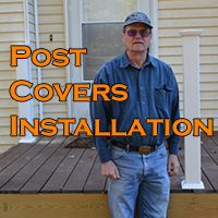 Post Covers Install