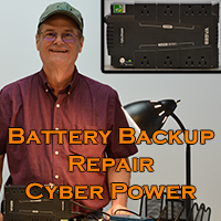 Cyber Power battery backup Repair