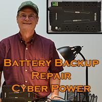Cyber Power battery backup Repair